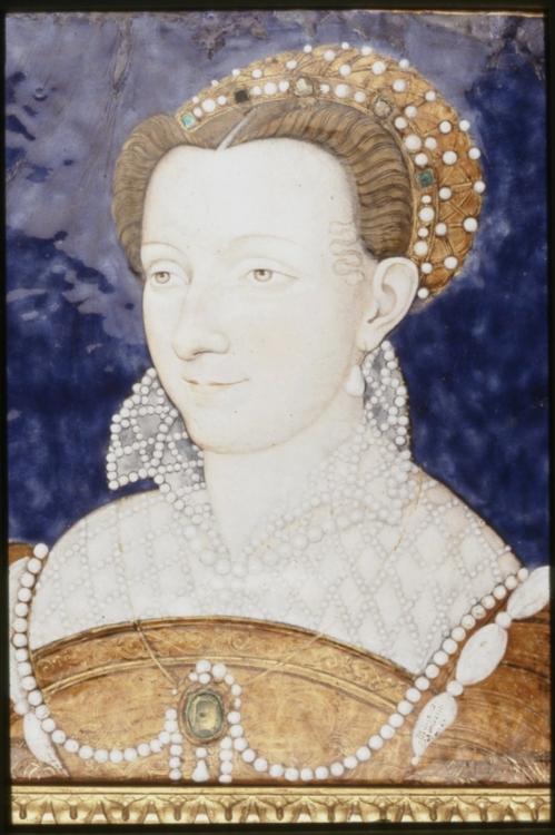 Léonard Limousin, Portrait of a Woman