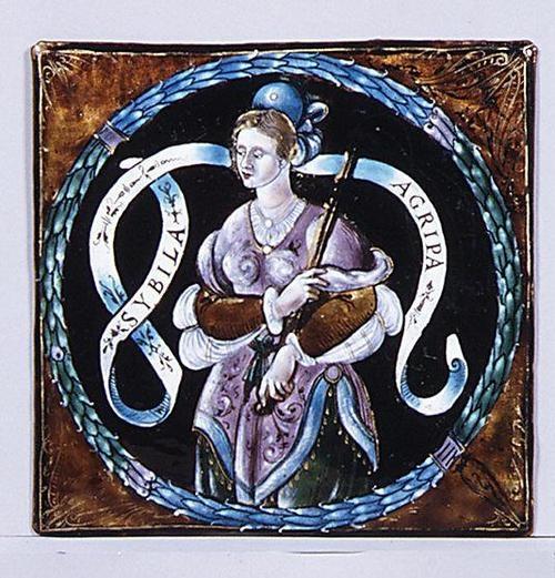 Léonard Limousin, Sibyl of Agripa