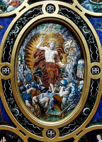 Léonard Limousin, The Resurrection